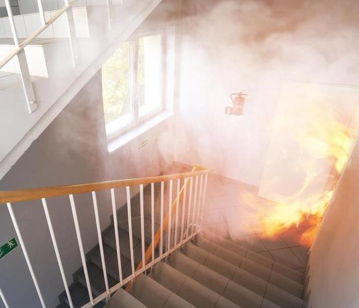Commercial What Happens if Smoke Damage Affects Your Workplace?